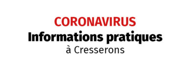 COVID 19 – Informations aux associations