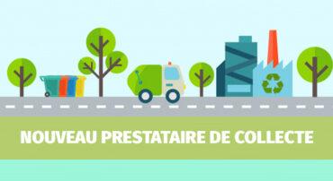 Collecte des ordures : changement de prestataire