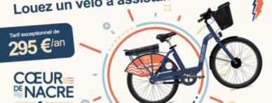 Location de vélo longue durée pour les habitants de la Communauté de Communes